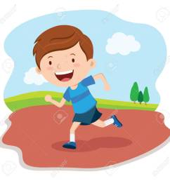 boy running race marathon runner stock vector 62399882 [ 1300 x 1300 Pixel ]