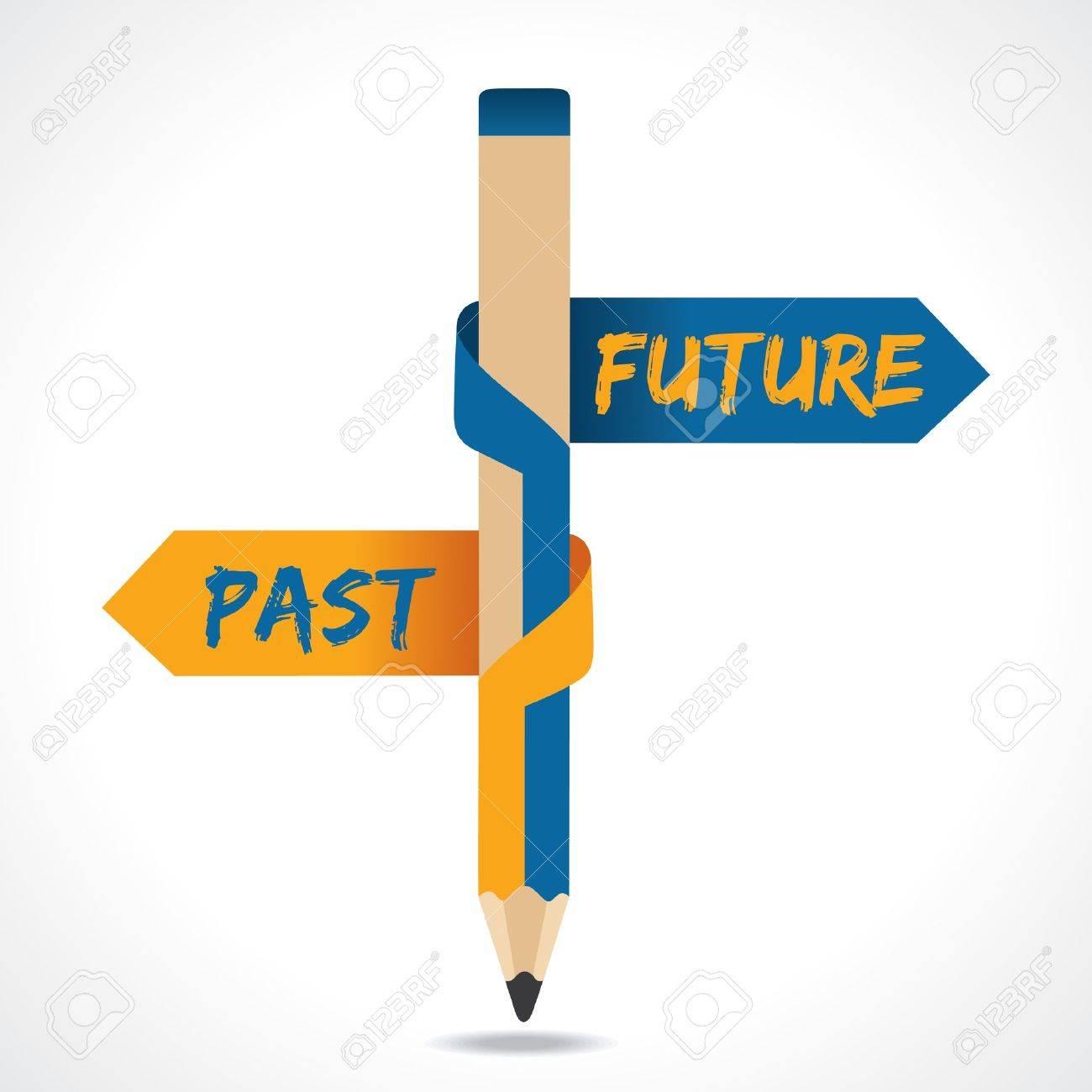 past future arrow in