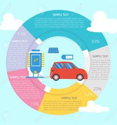 electric car infographic diagram stock vector 101267883 [ 1300 x 1300 Pixel ]