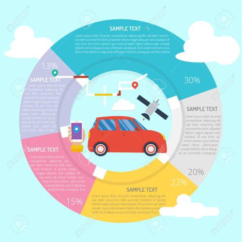 small resolution of smart car infographic diagram stock vector 101267893
