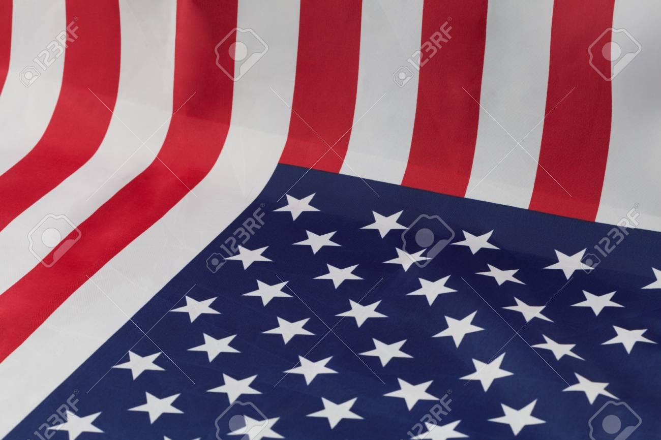 american flag used as