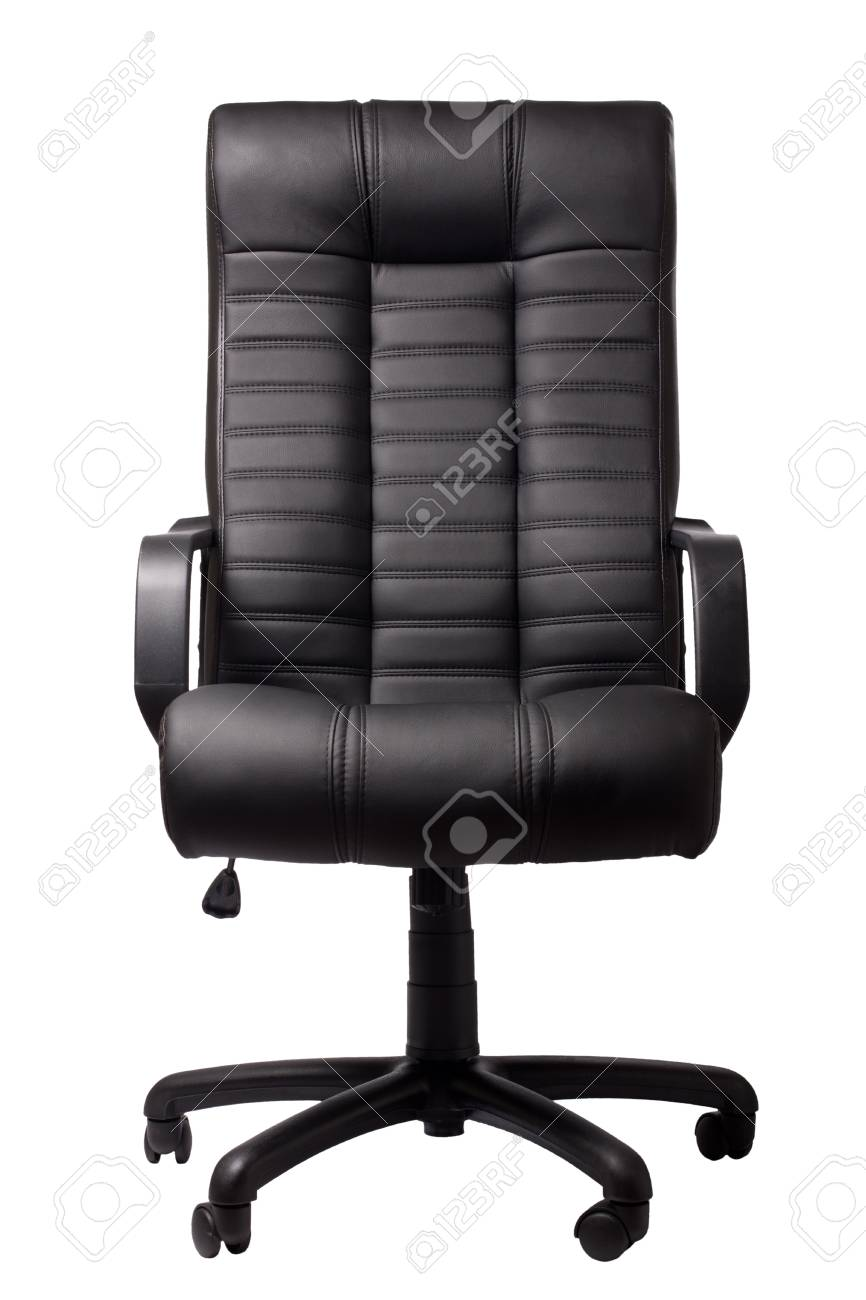 Executive Leather Chair Black Executive Leather Chair On A White Background