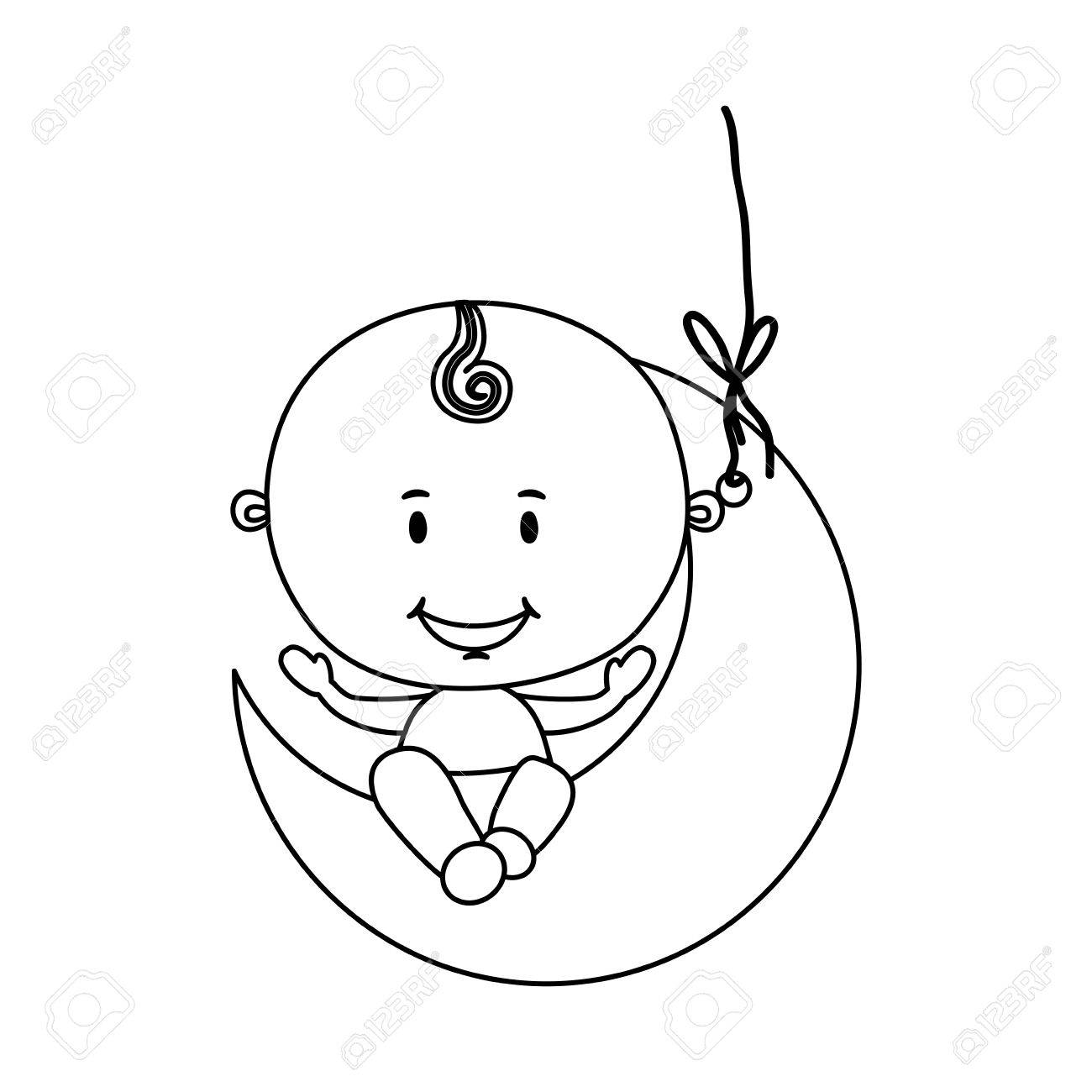 hight resolution of cute baby boy icon image vector illustration design stock vector 66476630