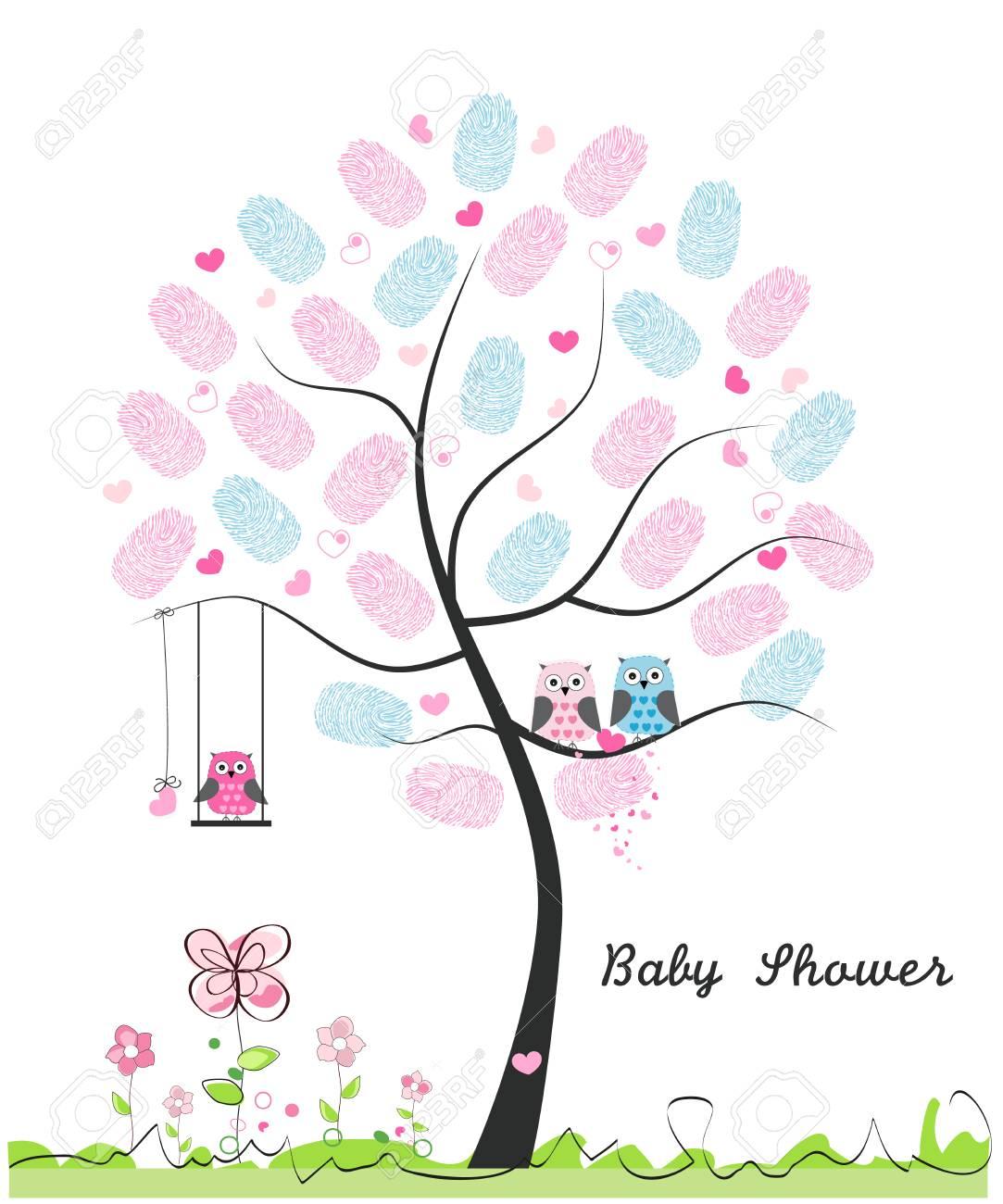 Baby Shower Greeting Card Images : shower, greeting, images, Shower, Greeting, Card., Family, Royalty, Cliparts,, Vectors,, Stock, Illustration., Image, 112533281.