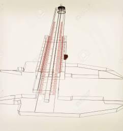 vernier caliper 3d illustration vintage style stock illustration 60854050 [ 1300 x 1114 Pixel ]