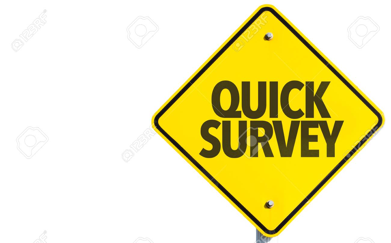 quick survey sign on