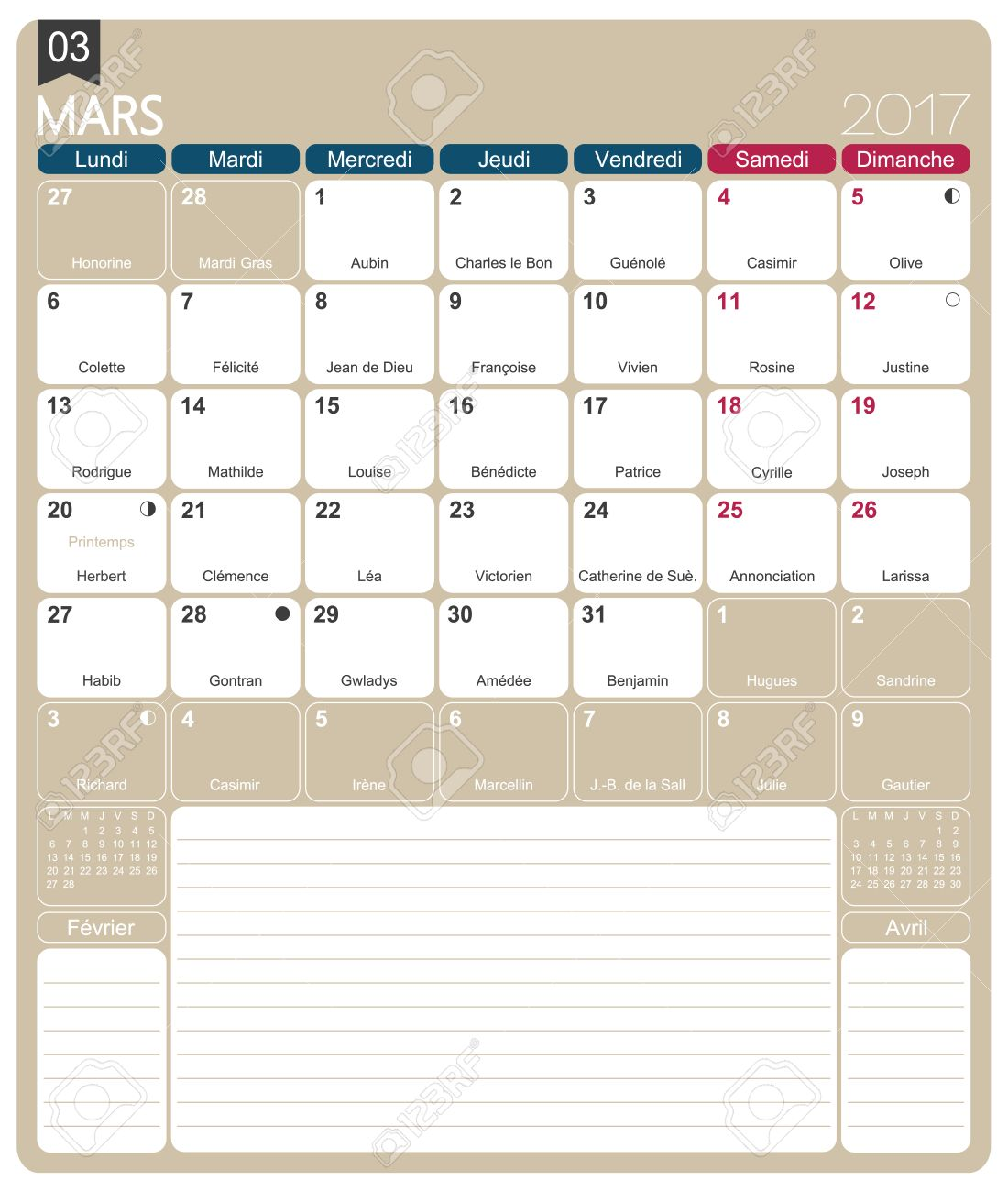 Image result for March 2017 Calendar Printable Template