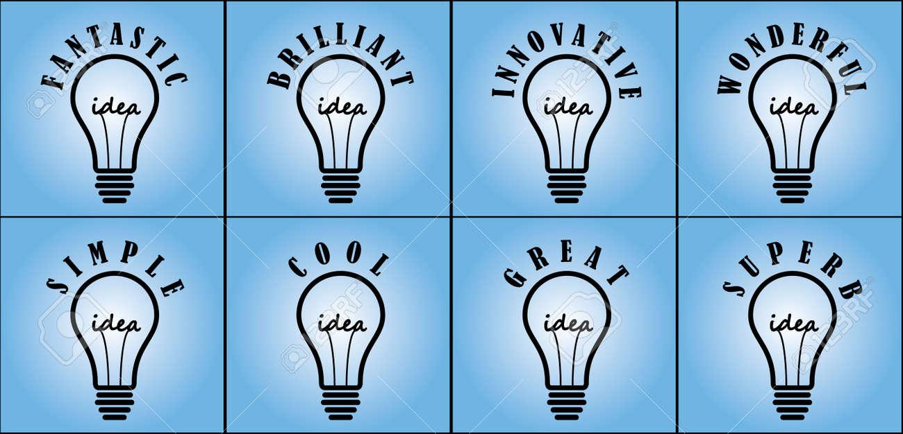 idea concept using light