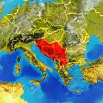 Former Yugoslavia From Space On Model Of Planet Earth With Country Stock Photo Picture And Royalty Free Image Image 113366210