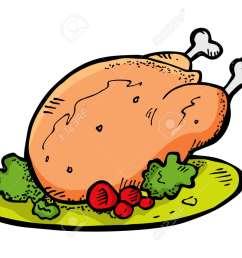 chicken in doodle style stock vector 13764346 [ 1300 x 973 Pixel ]