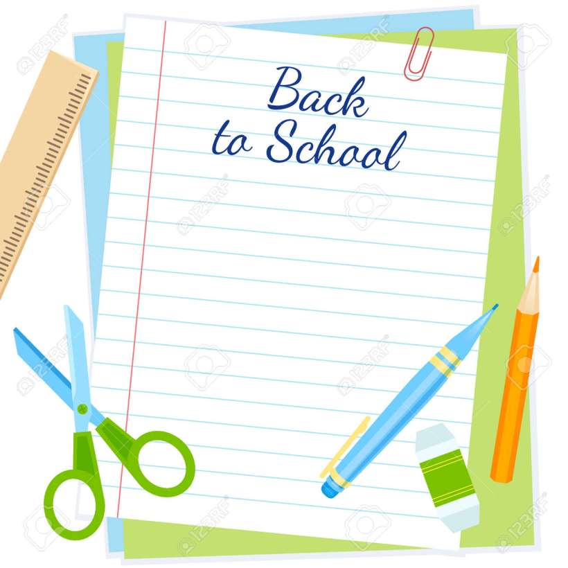 56a477aa87d4 Back To School Frame Vector Design Royalty Free