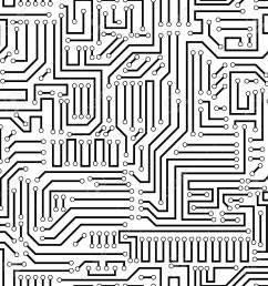 printed circuit texture background seamless black and white seamless printed wiring board background vector illustration [ 1300 x 1300 Pixel ]