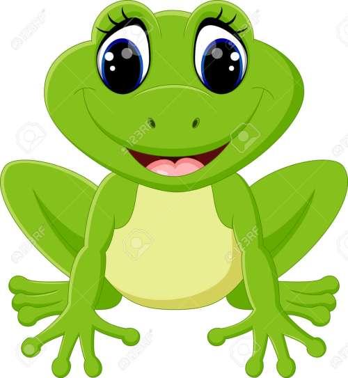 small resolution of cute frog cartoon