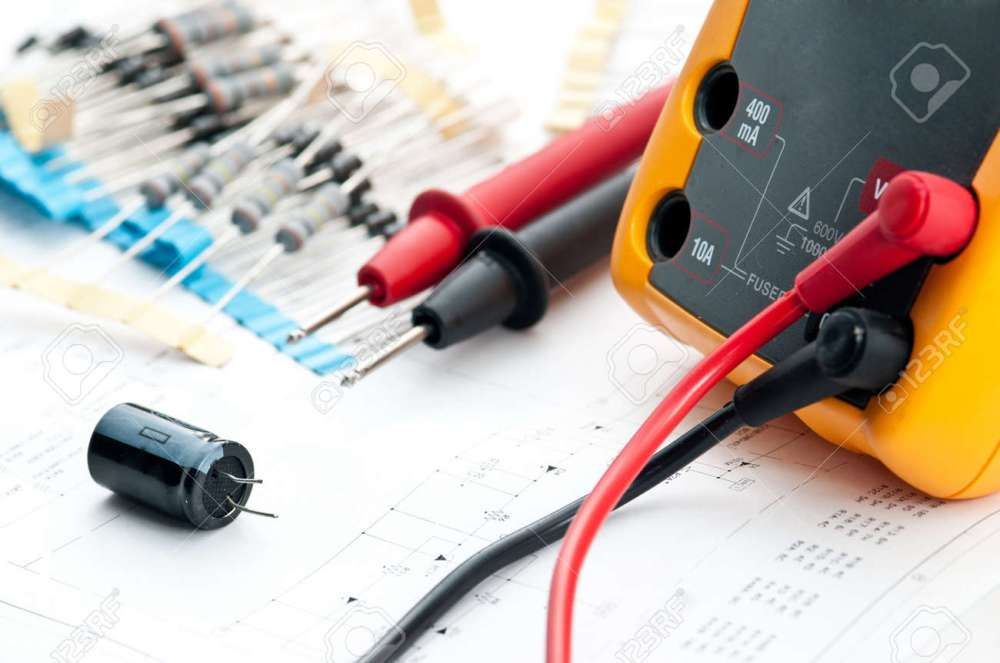 medium resolution of checking circuit by multi meter electrical engineer on during checking circuit board unit by multi