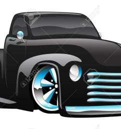 hot rod pickup truck illustration stock vector 82889183 [ 1300 x 793 Pixel ]