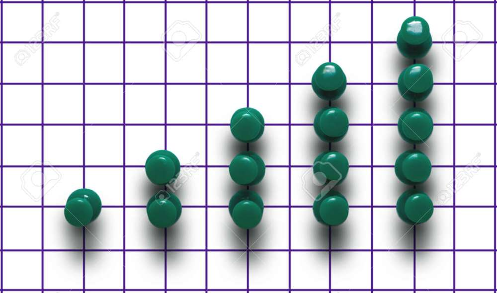 medium resolution of green drawing pin diagram on a plaid background stock photo 5909338
