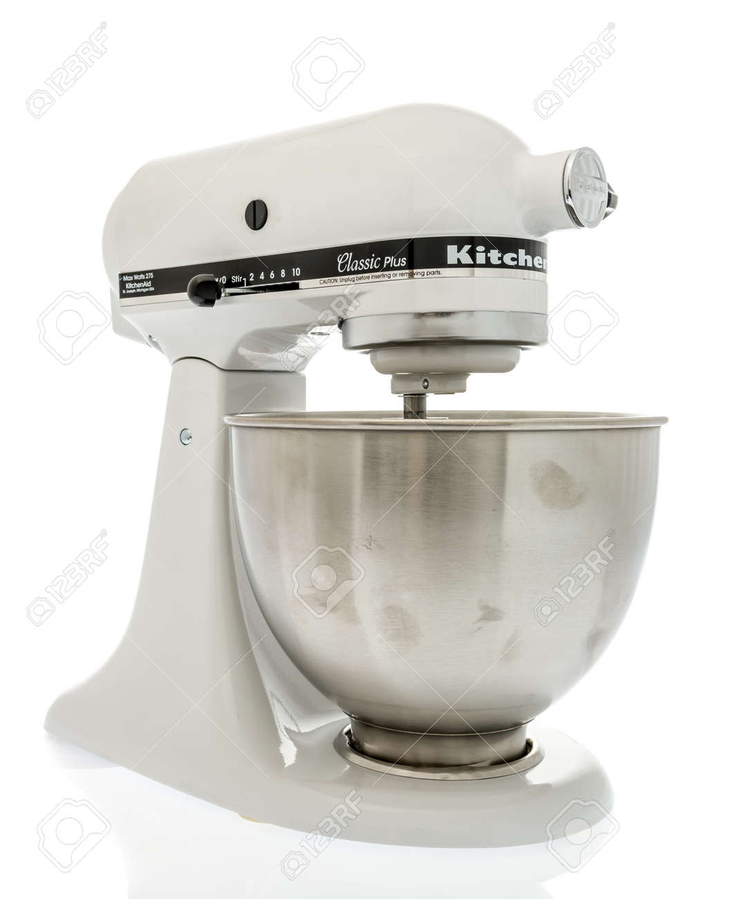 kitchen aid classic plus kitchenaid winneconne wi 14 october 2018 a white mixer stock photo on an isolated background