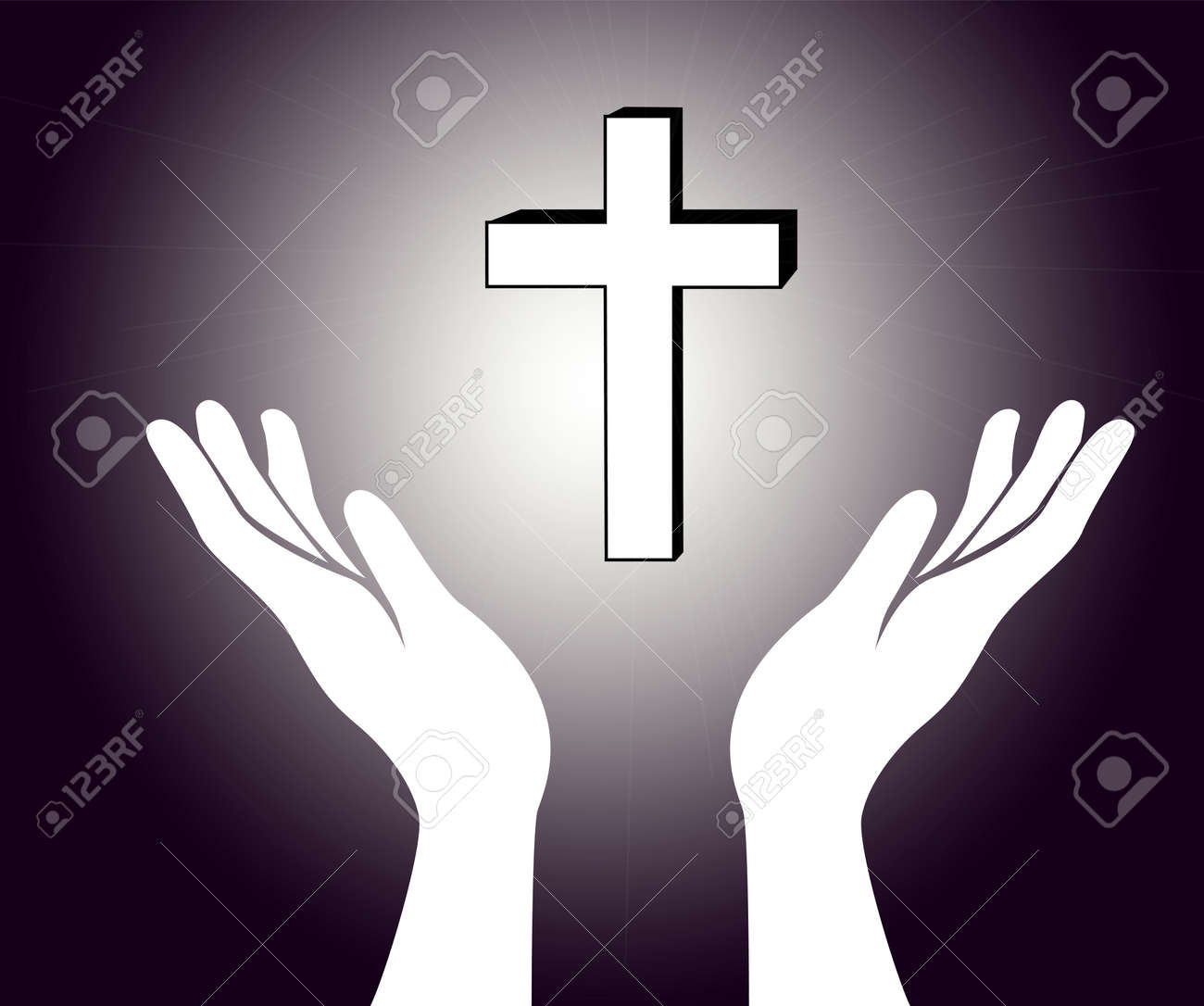 hand and the jesus