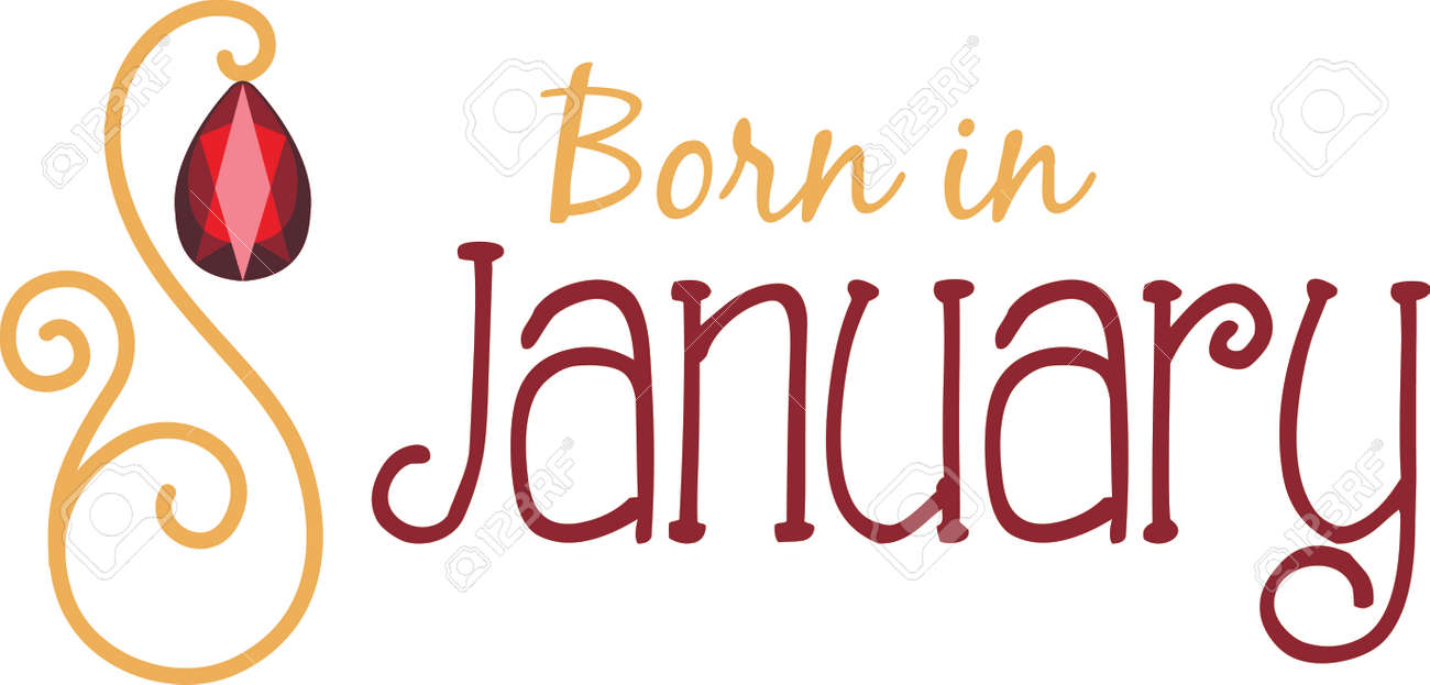 pix January Birthday Images garnet royalty free cliparts vectors