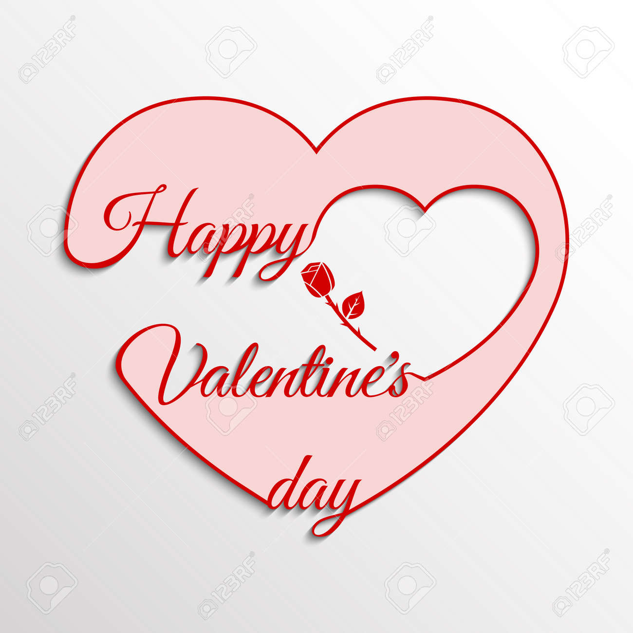 Valentines Day Cards. Love Card. Valentine's Day Background, Greeting Card,  Poster,