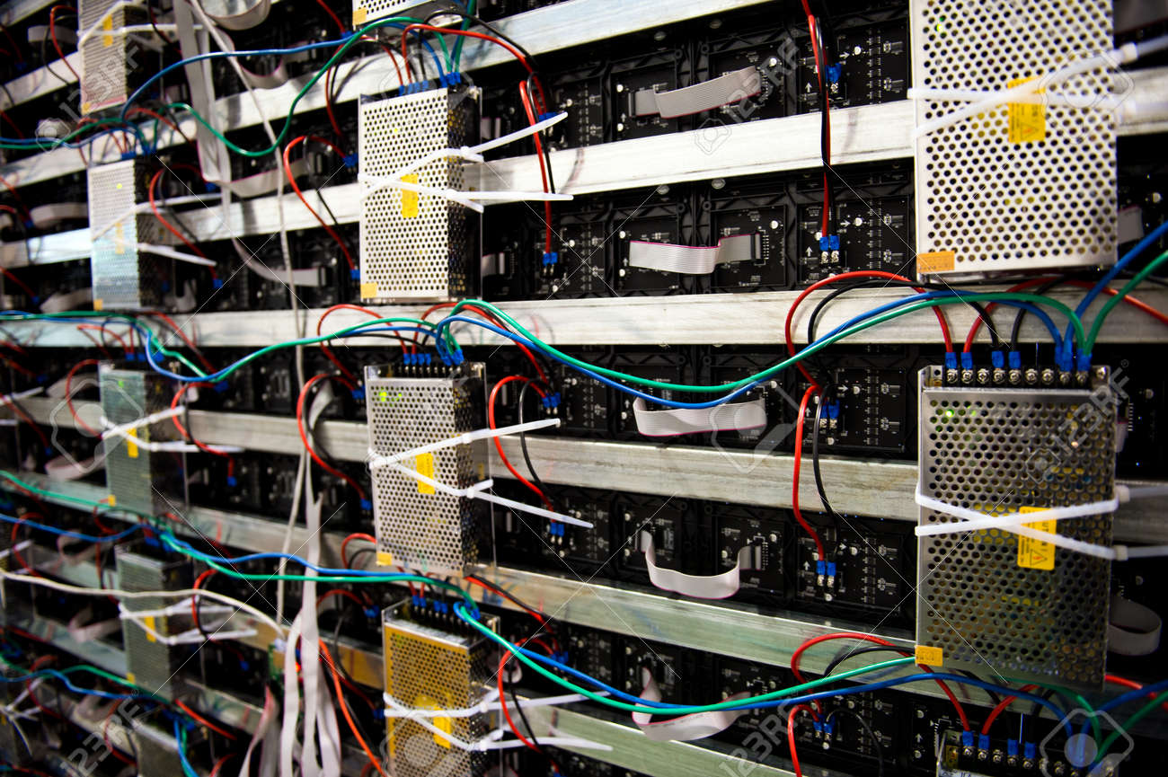 hight resolution of server front side showing colorful switches and wiring stock photo 23086713