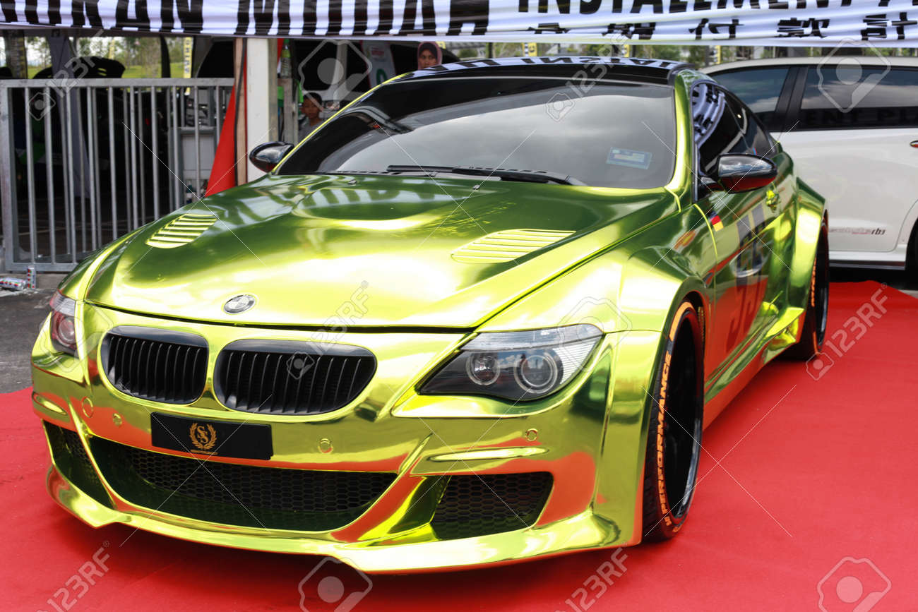 hight resolution of kuala lumpur malaysia oct 28 a front view of bmw sport car