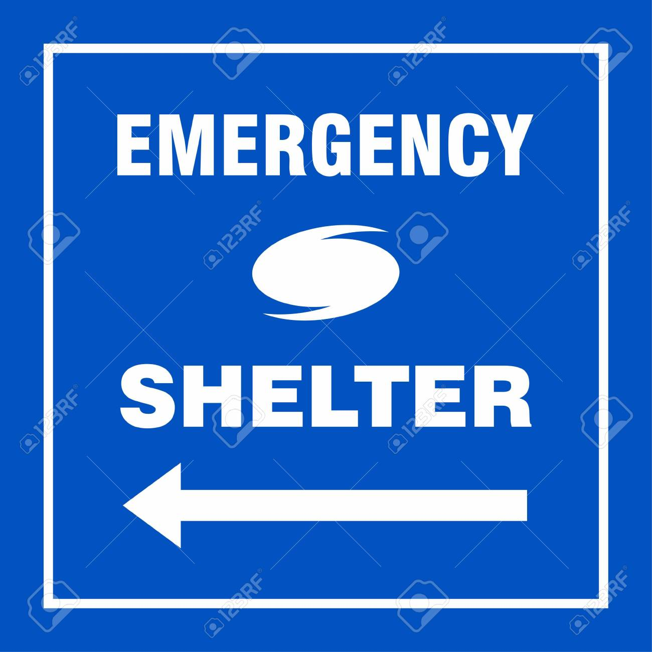 emergency shelter left safety