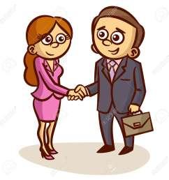 business partners shaking hands partnership clipart stock vector 61250322 [ 1300 x 1300 Pixel ]