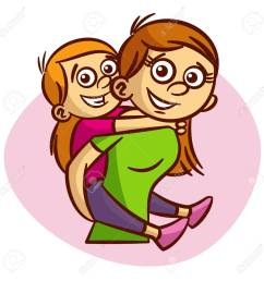 mother and child having fun clipart stock vector 61633188 [ 1300 x 1300 Pixel ]