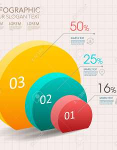 Modern vector abstract pie chart infographic elementsn be used for workflow layout diagram also rh rf