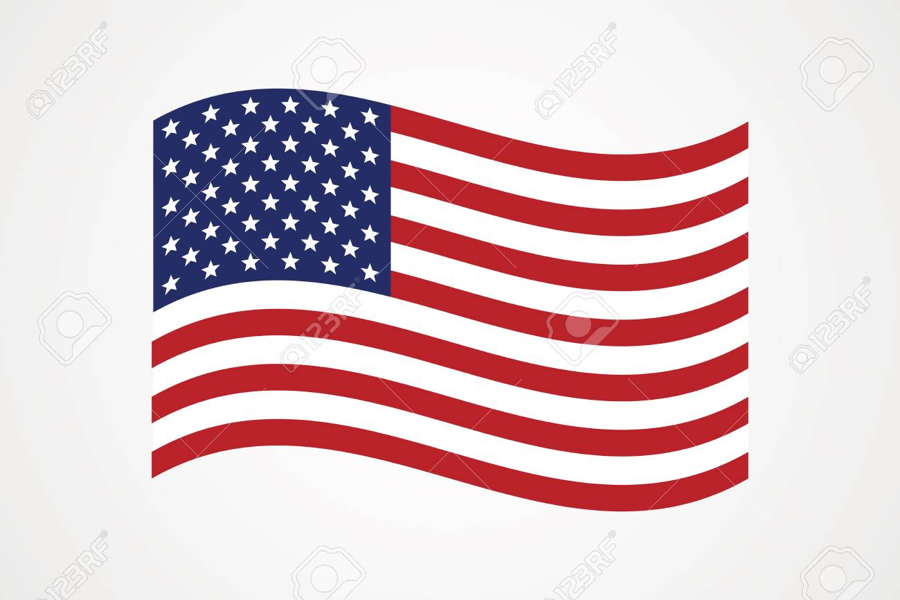 American Flag Vector Icon The Flag Of The United States Of America Royalty Free Cliparts Vectors And Stock Illustration Image 110546542