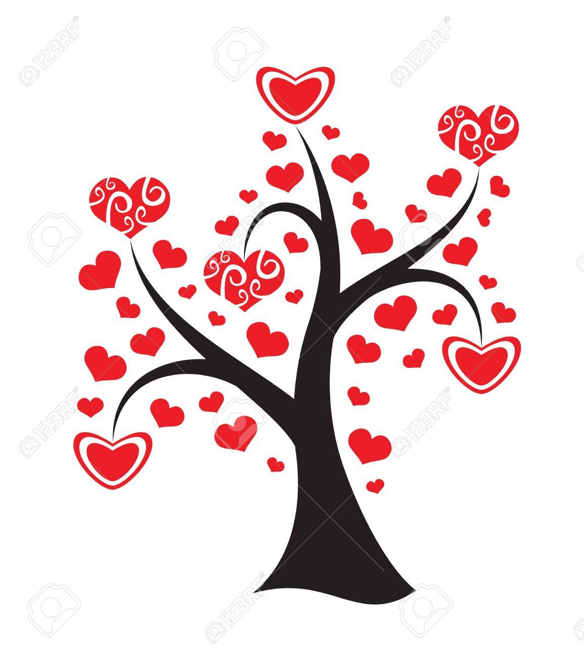 Image result for love tree cartoons