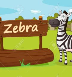 illustration of animal enclosure at the zoo stock vector 16117230 [ 1300 x 801 Pixel ]