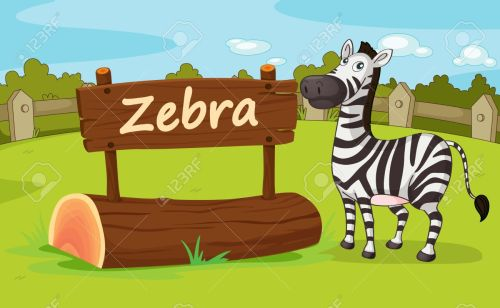 small resolution of illustration of animal enclosure at the zoo stock vector 16117230