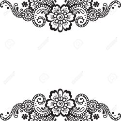 Flower Vector Ornament Corner Royalty Free Cliparts Vectors And Stock Illustration Image 36374413