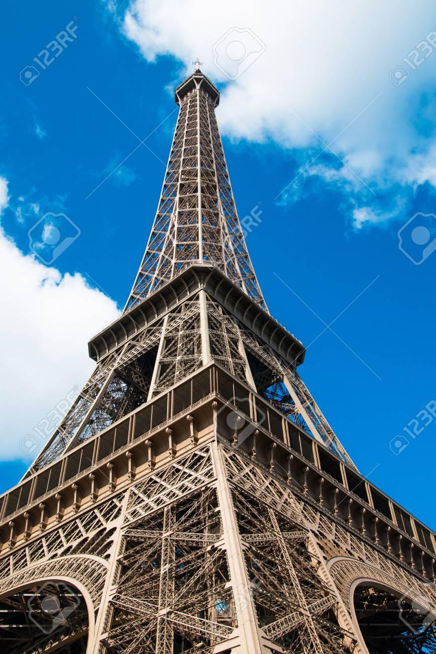 Surnom De La Tour Eiffel : surnom, eiffel, Eiffel, (surnom, Fer),, Devenue, Symbole, éminent, Paris, France, Banque, D'Images, Photos, Libres