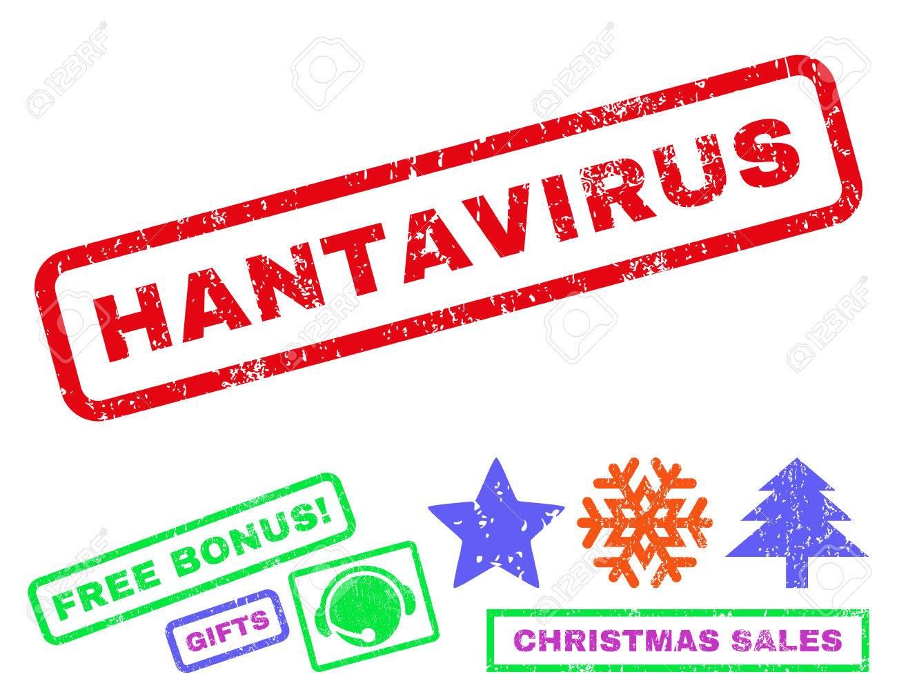 Hantavirus Text Rubber Seal Stamp Watermark With Bonus Christmas ...