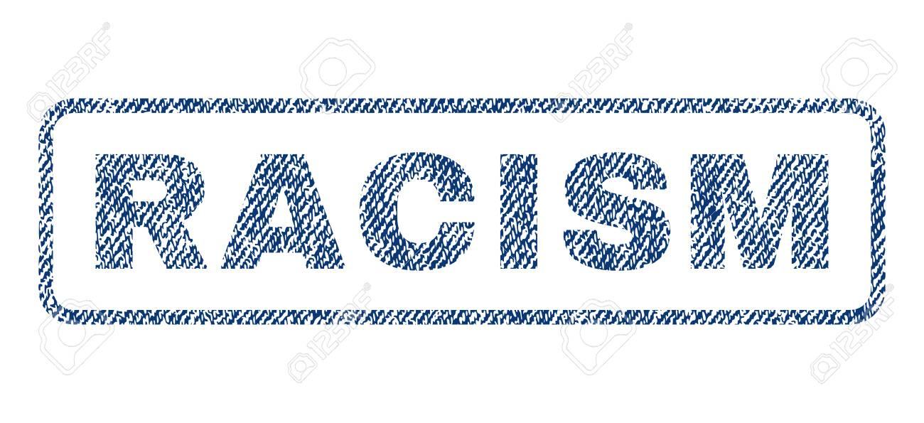 racism text textile seal