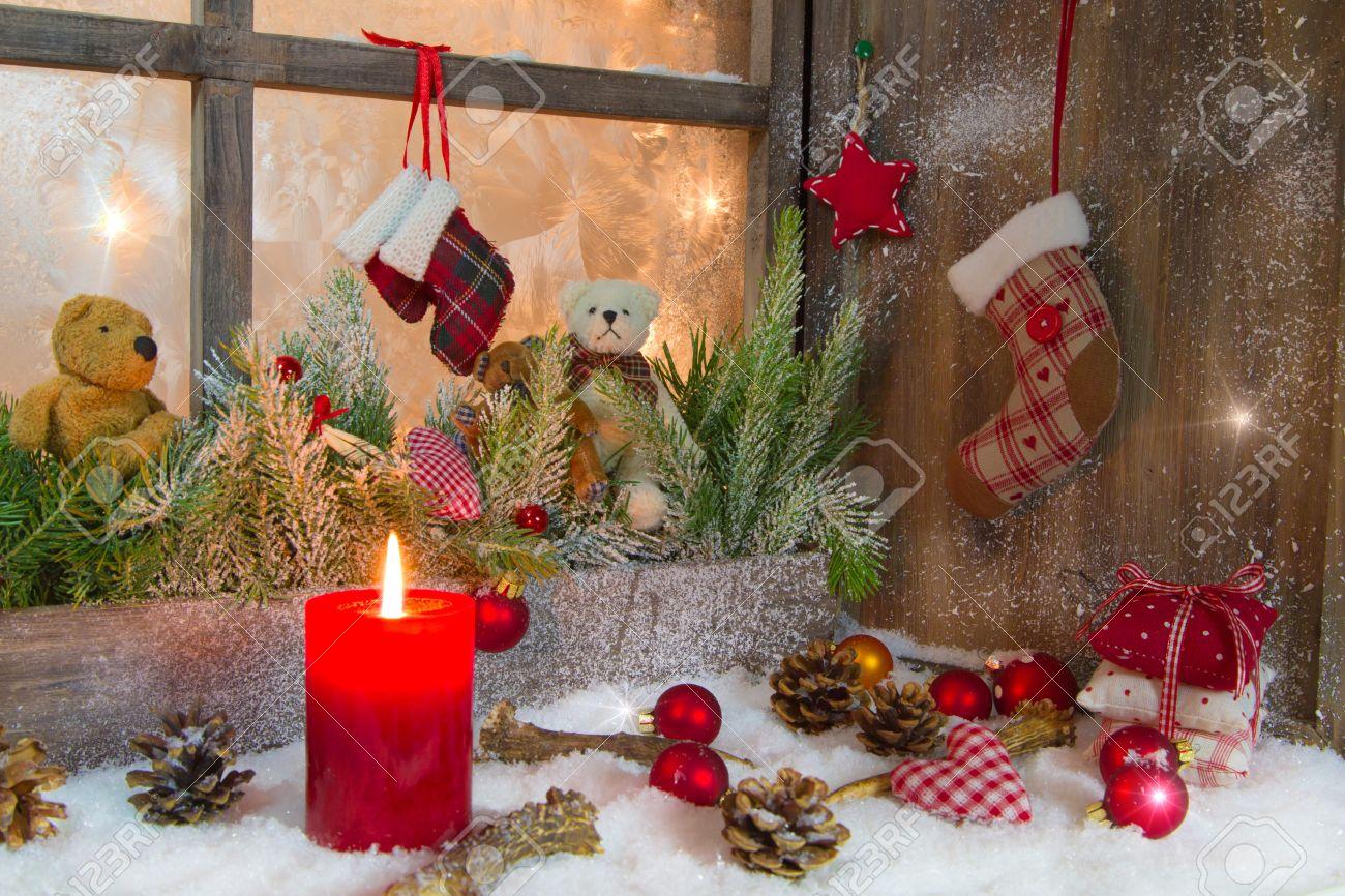 Window Sill Christmas Decorations