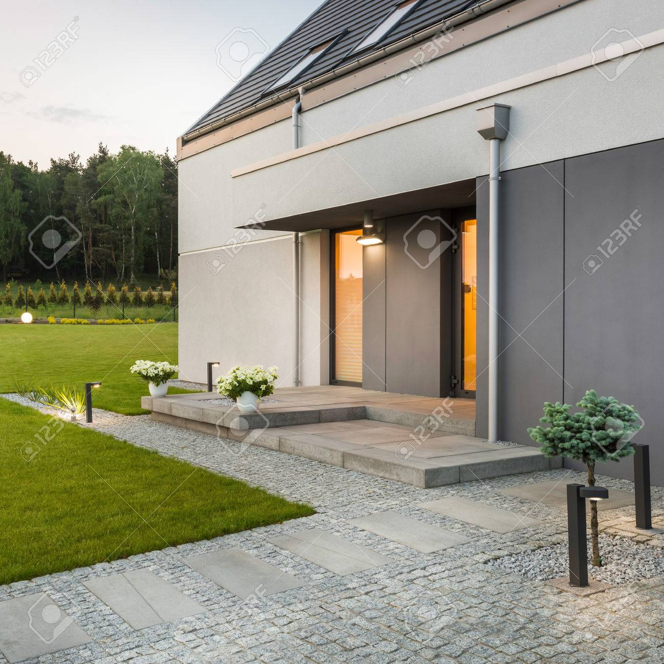 Eclairage Exterieur Villa