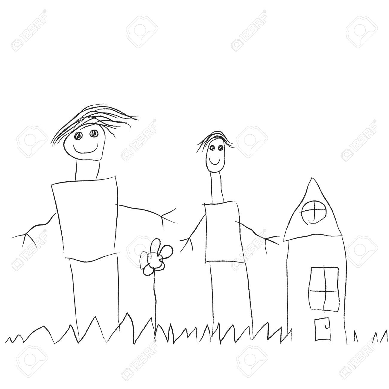Dibujos Para Dibujar A Lapiz Para Ninos