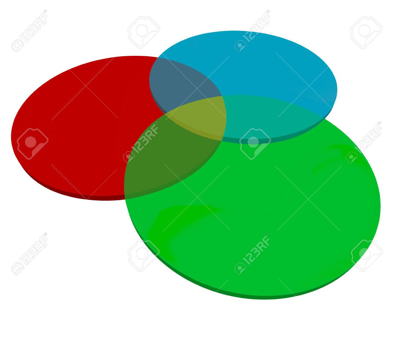 hight resolution of stock photo three or 3 venn diagram overlapping circles to illustrate shared or common qualities characteristics qualities or agreed upon elements