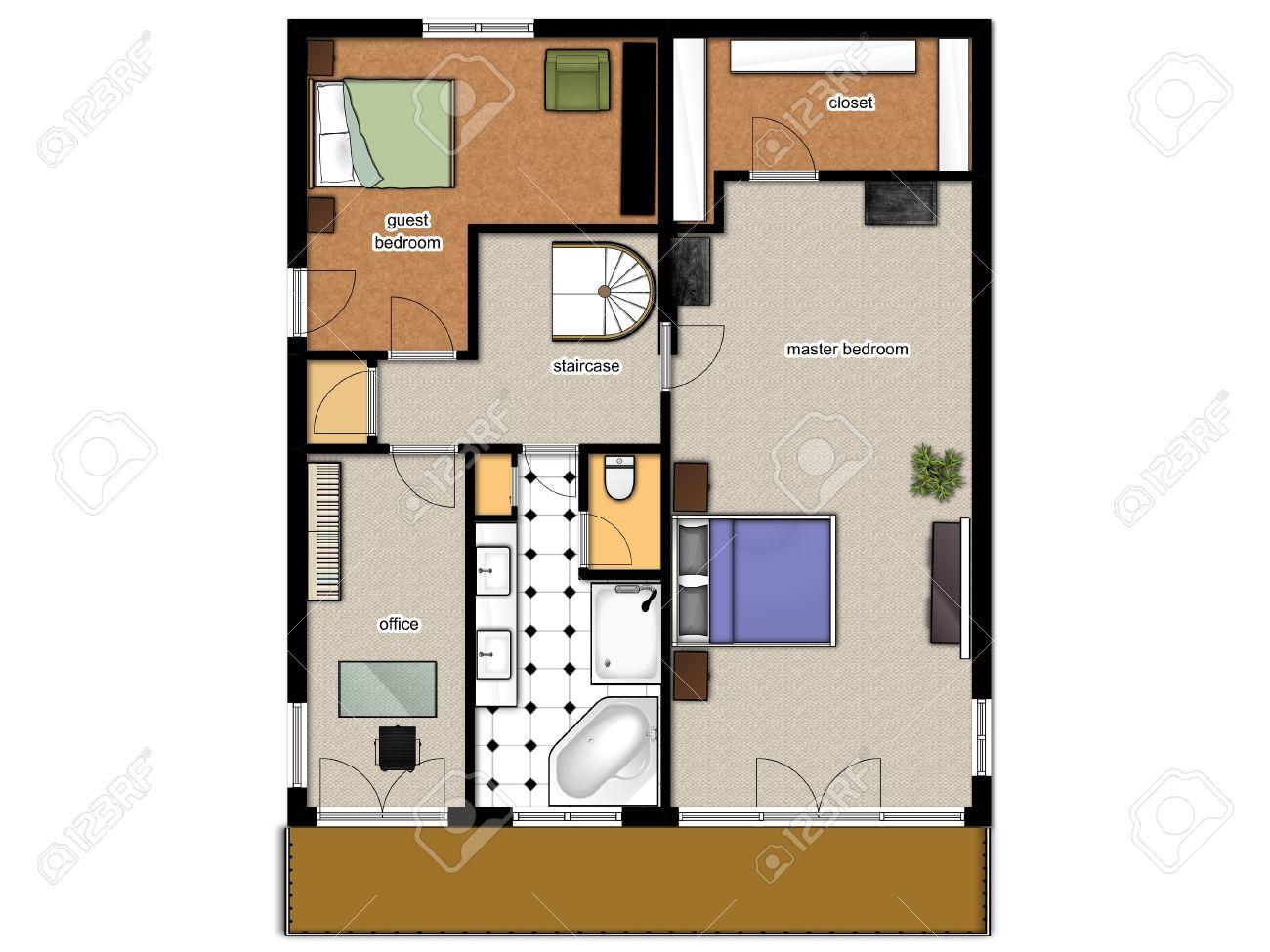 Bad Im Schlafzimmer Integriert Grundriss Satteldachhäuser Balance