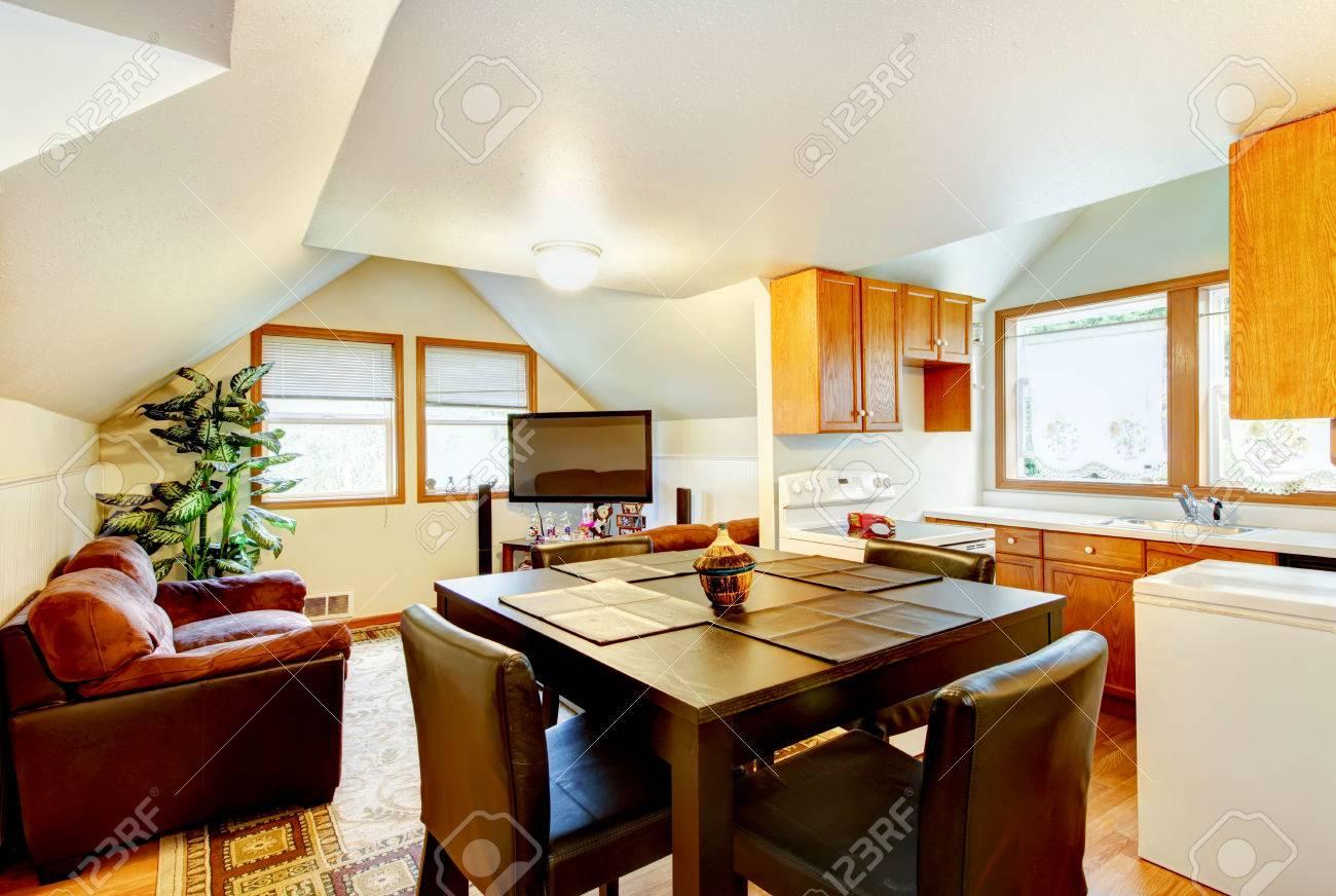 Küche Esszimmer In Einem Raum Küche Esszimmer Und Wohnzimmer In