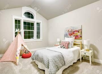 Chambre Gris Clair Et Blanc   Décoration Chambre Parentale Gris