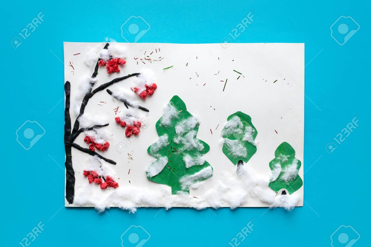 Winter Preschool Arts Crafts Activities Easy Crafts Ideas Stock Photo Picture And Royalty Free Image Image 116218072