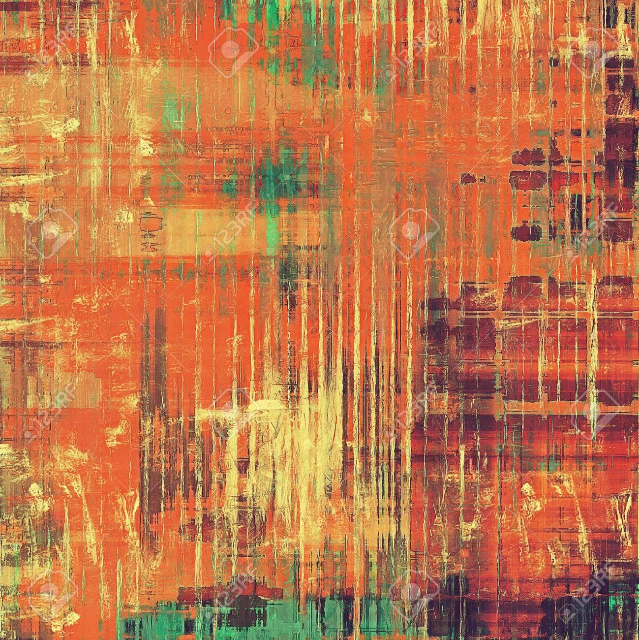Vintage Fond Texture Avec Differents Modeles De Couleur Jaune Beige Rouge Orange Verte Pourpre Violet Banque D Images Et Photos Libres De Droits Image 41089307