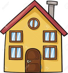 Funny House Cartoon Illustration Royalty Free Cliparts Vectors And Stock Illustration Image 10746482