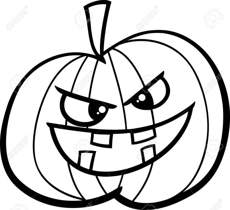 Dibujos Animados De Halloween Para Colorear   Cartoonsite.co