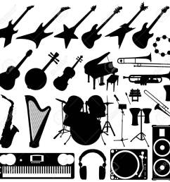 rock band drums clipart band instruments music [ 1300 x 1300 Pixel ]